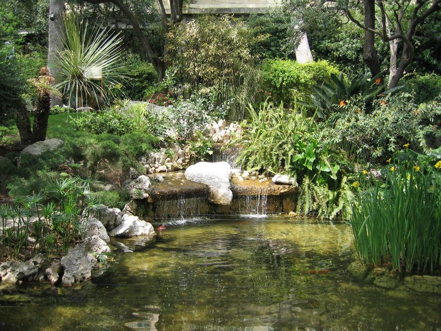 Monako fontan