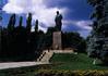 Taras Shevchenkos' monument in Shevchenko Park, Kyiv