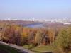 Осень, Воробьевы горы, смотровая площадка
